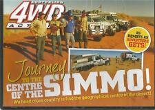 AUSTRALIAN 4WD ACTION - ISSUE 227 JOURNEY TO THE CENTRE OF THE SIMMO!
