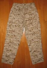 USMC FROG FLAME RESISTANT DESERT MARPAT TROUSERS PANTS SMALL REGULAR