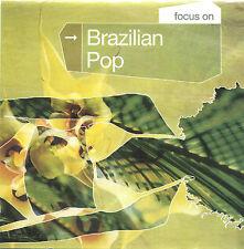 CD Various Artists-Focus on Brazilian Pop-2001 BMG Brasil 74321791702- UK Import
