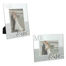 Wedding Day MR & MRS Mirror & Glitter - Choose Size