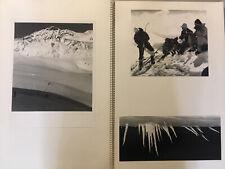 Grand Album Photo Alpinisme Montagne Ski Du Peintre Hervé Le Bourdelles Autriche