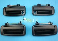 Black Outside Exterior Door Handle for Toyota Corolla 1988 1989 1990 1991 1992