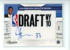 2010-11 Prestige HASSAN WHITESIDE #36 Rookie RC Draft AUTO SP /399 Kings