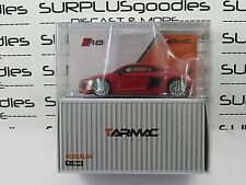 Tarmac Works 1:64 Scale 2018 Global64 AUDI R8 V10 Plus Dynamite Red T64G-001-RE