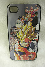 USA Seller Apple iPhone 4 & 4S Anime Phone case  Cover Anime Characters Goku ...