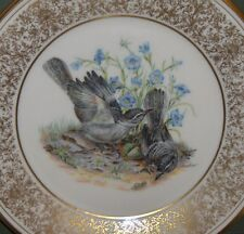 1978 Lenox Edward Marshall Boehm -Mockingbirds-Collector Plate