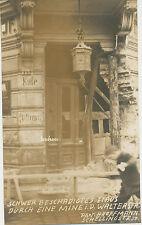 Foto Freikorps München 2.Mai 1919 Eine Mine in der Walter Str. (7821)