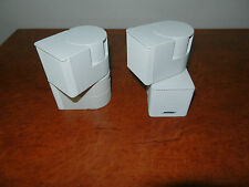 BOSE PREMIUM JEWEL CUBE SPEAKERS FROM LIFESTYLE 535 IN GOOD CONDITION