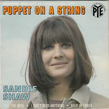 "SANDIE SHAW - puppet on a string + 3 45"" EP"