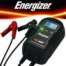 Energizer 50904 6 V 12 V 4 A 9 paso Coche Furgoneta Bicicleta Cargador y mantenedor Batería inteligente