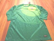 WOMEN'S NIKE AUTHENTIC DRI-FIT TEAM USA GOALKEEPER SOCCER JERSEY SIZE L $150