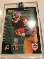 2018 Panini Instant Rookie Premiere Derrius Guice RC Card 1 Of 1 Encased 1/1
