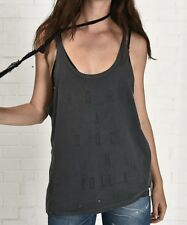 ONE X by ONETEASPOON PRINTED Rock N Rolla Daddy O Tank Shirt *SAMPLE *Size SMALL