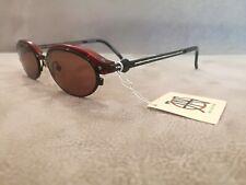 Jean Paul Gaultier JPG Vintage Sunglasses 58-0004 Red & Black  Black Lenses