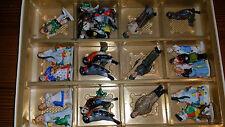 Porzellan Mini Figuren - 10 x Märchen + 11 x Vögel + 3 Männer - Gebraucht