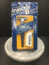 VTG Safety Razor Personna Floating Head Injector Blue Handle USA HTF Rare NOS