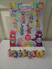 Scented Care Bears 3D charms toy figure, keyring, keychain, Ideal Party Bag Toys