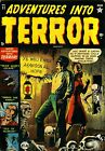 Adventures Into Terror 11 Comic Book Cover Art Giclee Reproduction on Canvas