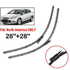 "2x28"" Front Windshield Wiper Blades For Ford Focus 3 (North American) 2012-2018"