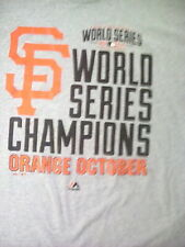 San FRANCISCO GIANT world series shirt