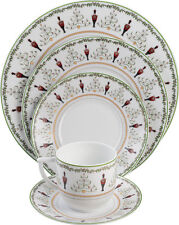 Bernardaud Grenadiers Fine China Brand New 5 piece Place Setting