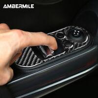 Carbon Fiber for Mini Cooper F56 Window Lifter Switch Control Panel Cover Trim