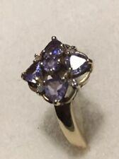 Tanzanite & diamond Gold Ring.  9k Gold BUY NOW  ❤️ Great Christmas Gift ❤️