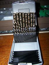 Edelstahlbohrer HSS-Co DIN 338 Sortimentbox 1-10mm in 0,5mm Schritten 19 Stück