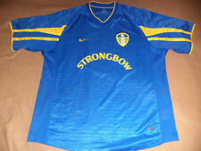 Leeds United nike 2001 / 2002 away shirt jersey trikot koszulka size XL