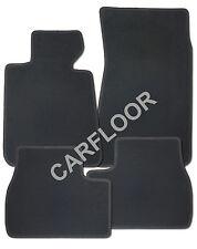 Für BMW 5er E28 Fußmatten in Velours Deluxe anthrazit mit Nubukband M-Optik