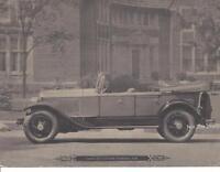 "Vintage Cadillac - Cadillac Custom Touring Car 8 1/2"" x 6 3/8"" B&W Print"