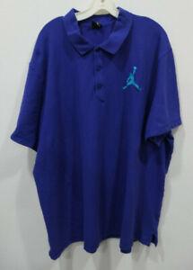 Nike Air Jordan Jumpman Polo Shirt Size Men's 3XL Short Sleeve Picks