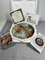 "Alice In Wonderland ""A Mad Tea Party"" Plate By Scott Gustafson"