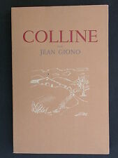 Colline de Jean Giono, H. Lefèbvre éditeur - 16 eaux fortes de A. Jacquemin 1946