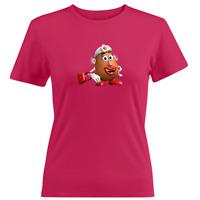Juniors Women Girl Teen Tee T-Shirt Toy Story Pixar Mrs.Potato Head Wife Cartoon