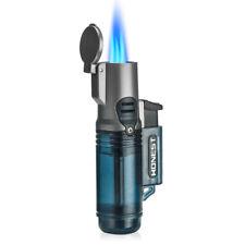HONEST Three Torch Blue Flame Butane Gas Lighter Windproof Jet Cigar Cigarette