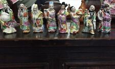 Chinese Figurines Vintage Set of 8 Chinese Men Figure Collection