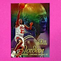1996-97 Flair Showcase MICHAEL JORDAN Row 2 Seat 23 Chicago Bulls
