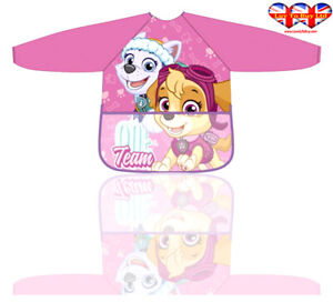 Children Apron, Paw Patrol Apron For Girl's & Boys Official Licensed(2-6 Year)
