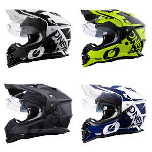 ONeal Sierra R Motocross Helmet Off Road Dual Sport Motorcycle O Neal ATV Quad