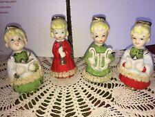 Vintage Choir Angel figurine-set of 4 Made In Japan