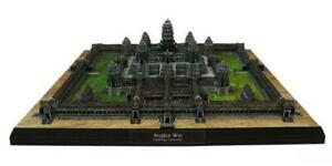 Brand New The Angkor Wat Cambodia DIY 3D Paper Model Famous Building Puzzle Kit
