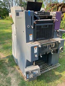 Heidelberg  QM 46-2 printing press for parts or repair