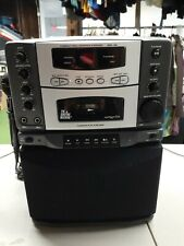 The Singing Machine Karaoke Machine Smg-188 CD Player Works, Tape player doesn't