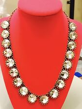 J. Crew Adorable Authentic Crystal Flytrap Necklace NWOT New Stunning