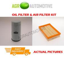 PETROL SERVICE KIT OIL AIR FILTER FOR FORD PUMA 1.7 125 BHP 1997-02