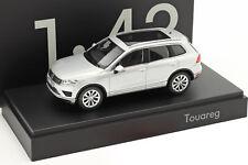 Rare 1/43 Volkswagen Touareg Silver Metallic Herpa Dealer Promo