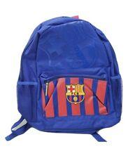 FC Barcelona Official Team Licensed Logo Backpack, School Bookbag, Blue Red FCB