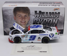2017 William Byron Vannoy Construction 1/24 Autographed New In Stock Free Ship