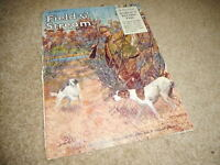 OCT 1924 FIELD and STREAM hunting magazine cover RIFLE HUNTER DOGS